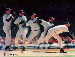 Roger Clemens Pitching