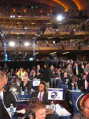 NFL Draft Day at Radio City Music Hall