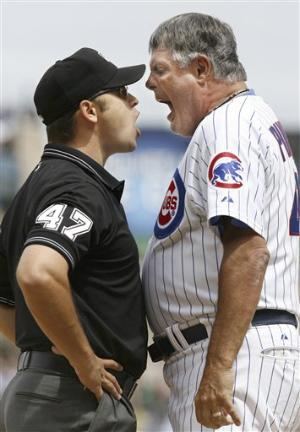 Lou Piniella Yelling at an Ump