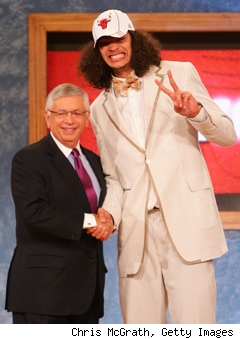 Joakim Noah Crazy Suit
