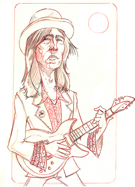An actual photo of Tom Petty