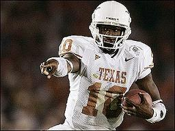 Vince Young during his great Texas days