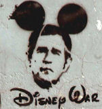 George Bush With Mouse Ears
