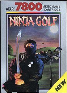 Ninja Golf on the Atari 7600