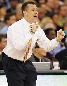 Basketball Coach Billy Donovan