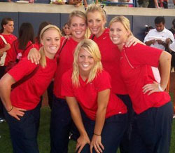 University of Arizona Softball Team