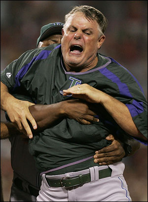 Lou Piniella Gets Forcibly Removed
