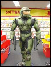Master Chief Rents Some Movies