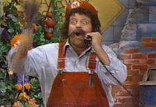 Lou Albano is Mario