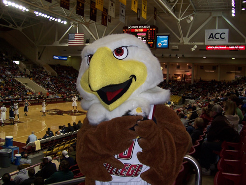 Baldwin the Boston College Eagle