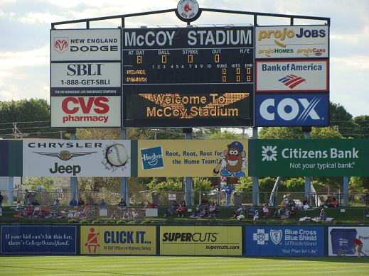 The Scoreboard at McCoy