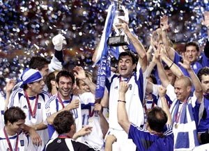 The victory in 2004 is among the biggest shocks in sport history.