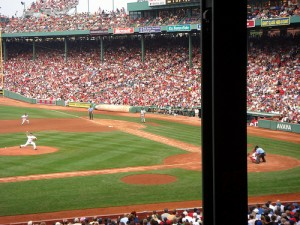Yes, This is an actual seat at Fenway. Probably cost an arm and a leg.