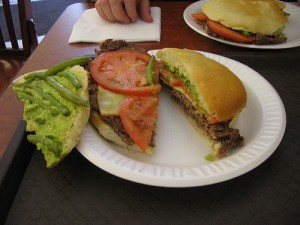 Chacarero Sandwich