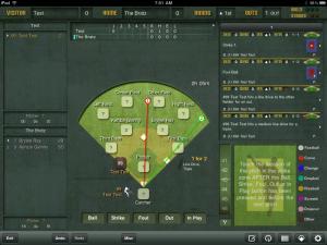 ESPN iScore Baseball Scorekeeper