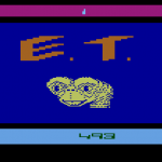 E.T. Title Screen